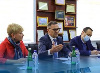 Ukraina elchisining O'zJOKUga tashrifi